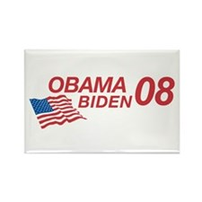 Obama/Biden 08 Rectangle Magnet