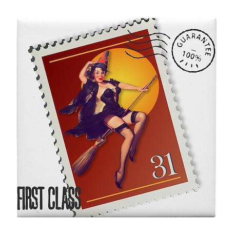 Kitsch Witsch Stamp Tile Coaster