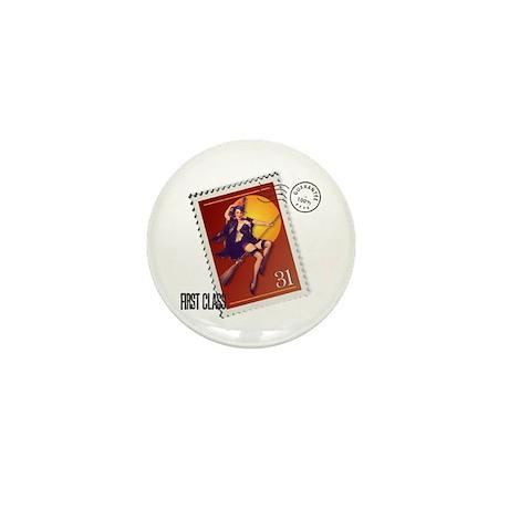 Kitsch Witsch Stamp Mini Button