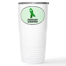 Transplant Survivor Travel Coffee Mug
