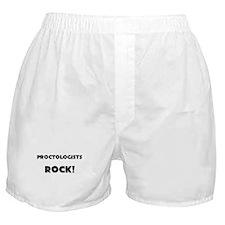 Proctologists ROCK Boxer Shorts