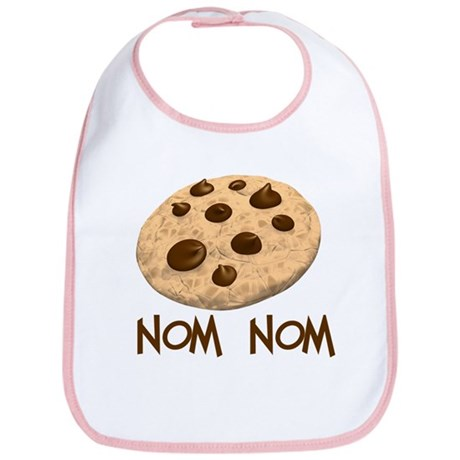 nom nom. Cookie Bib