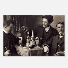 Three Absinthe Drinkers Postcards (Package of 8)