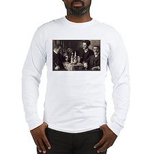 Three Absinthe Drinkers Long Sleeve T-Shirt