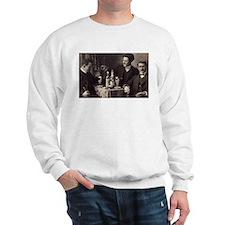 Three Absinthe Drinkers Sweatshirt