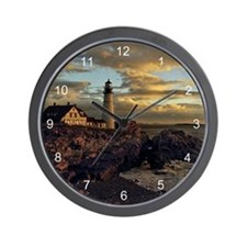 Portland Head Lighthouse Wall Clock