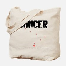 Game Over Cancer Tote Bag