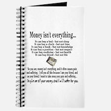Money Isn't Everything Journal