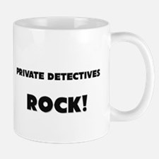 Private Detectives ROCK Mug