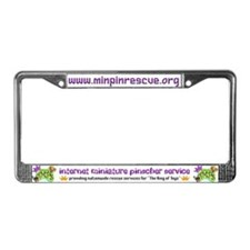 IMPS Smiley Dogs License Plate Frame
