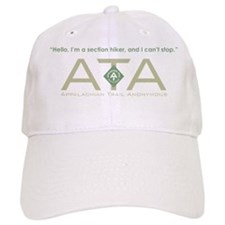 Appalachian Trail Section Hiker Baseball Cap