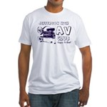 AV Club - Keepin It Reel! Fitted T-Shirt