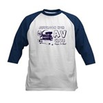 AV Club - Keepin It Reel! Kids Baseball Jersey