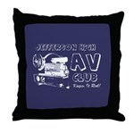 AV Club - Keepin It Reel! Throw Pillow