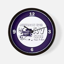 AV Club - Keepin It Reel! Wall Clock