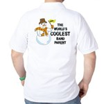Coolest Parent (Back) Golf Shirt