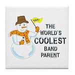 Coolest Parent Tile Coaster