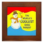 Coolest Parent Framed Tile