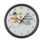 Coolest Parent Large Wall Clock