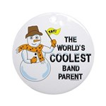 Coolest Parent Ornament (Round)