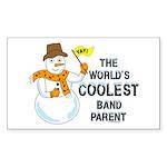 Coolest Parent Rectangle Sticker 50 pk)