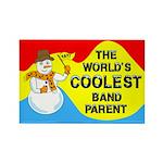 Coolest Parent Rectangle Magnet (100 pack)