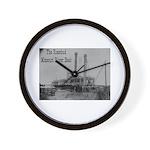 The Rosebud Wall Clock