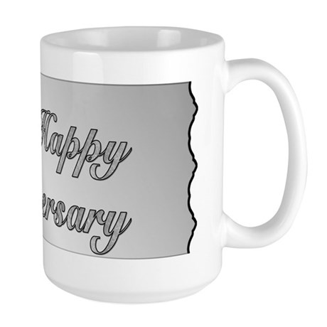 25th Anniversary - Silver Large Mug