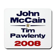 McCain Pawlenty Mousepad