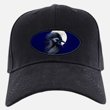 Manic Raven with Moon Baseball Hat