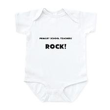 Primary School Teachers ROCK Infant Bodysuit