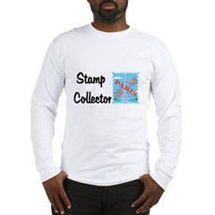 Stamp collector Long Sleeve T-Shirt