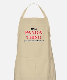 It's a Panda thing, you wouldn&#39 Light Apron