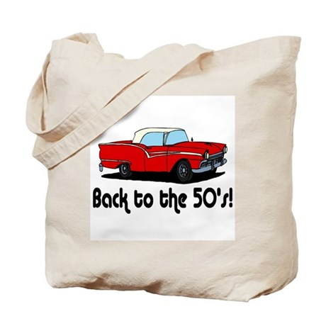 Back to the 50's Tote Bag