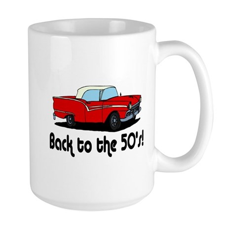 Back to the 50's Large Mug