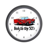 Antique cars Wall Clocks