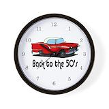 Antique cars Wall Clocks