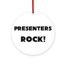 Presenters ROCK Ornament (Round)