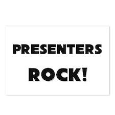 Presenters ROCK Postcards (Package of 8)