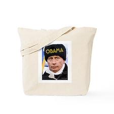 PUTIN LOVES OBAMA Tote Bag