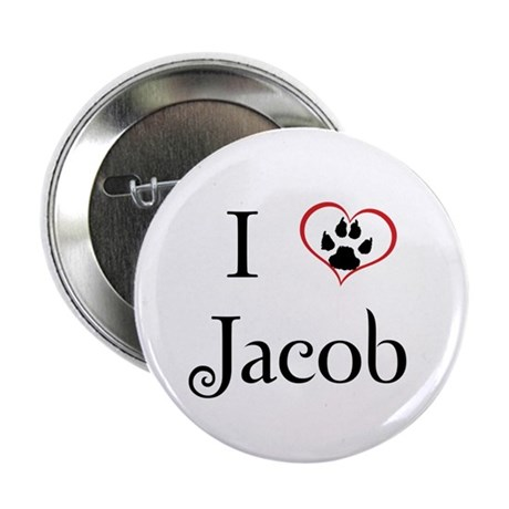 "Love Jacob Twilight 2.25"" Button (10 pack)"