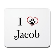 Love Jacob Twilight Mousepad