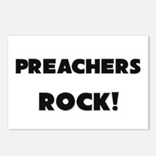 Preachers ROCK Postcards (Package of 8)