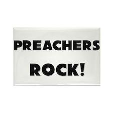 Preachers ROCK Rectangle Magnet