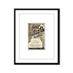 Hale's Honey Framed Panel Print
