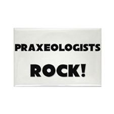 Praxeologists ROCK Rectangle Magnet