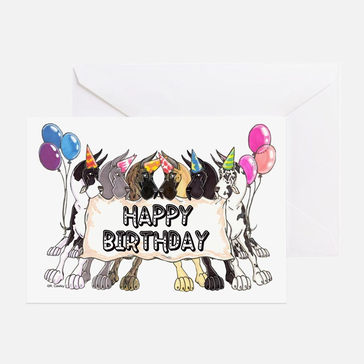 C6 Happy Bday Greeting Card