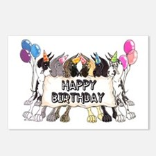 C6 Happy Bday Postcards (Package of 8)