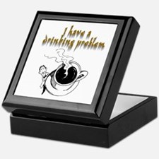 Drinking Problem Keepsake Box