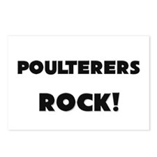 Poulterers ROCK Postcards (Package of 8)